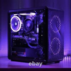 Gaming PC RGB Desktop Computer AMD Ryzen, GTX 1650 Super, 16GB, 240GB, 2TB WiFi
