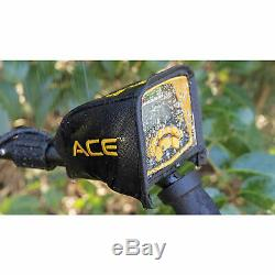 Garrett ACE 300 Metal Detector with 7 x 10 PROformance Search Coil and Extras