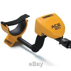 Garrett ACE 300 Metal Detector with Travel Bag, Headphones, Cover, Accessories+