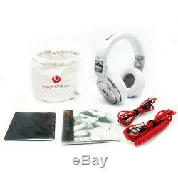 Genuine Beats By Dr. Dre Pro Over Ear 2014 Super Bowl Special Edition Headphones