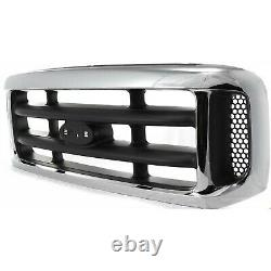 Grille For 99-2004 Ford F-250 Super Duty F-350 Super Duty Plastic