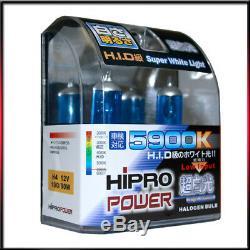 H4 9003-hb2 5900k Xenon Hid Halogen Headlight Bulb B