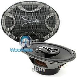 Hertz Ecx 690.5 6x9 300w Car 3-way Mylar Super Tweeters Energy Coaxial Speakers