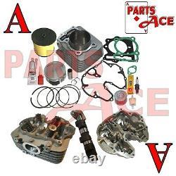 Honda Trx400ex TRX 400ex 440cc Big Bore Cylinder Complete Head Camshaft 99-08