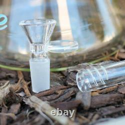 Hookah Water Pipe 18 inch 9MM Super Thick Wall Heavy Glass Tobacco Bong Beaker
