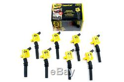 Ignition Coil Set-Super Coil Set Accel 140032-8 Ford 4.6L/5.4L/6.8L Eight Pack