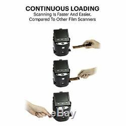 KODAK SCANZA Digital Film & Slide Scanner Converts 35mm, 126, 110, Super 8 & 8