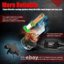 Lasfit LED Headlight H11 Low Beam Bulbs 8000LM 6000K Super Bright LS Plus Series