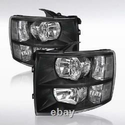 MOTOR-ACE For 2007-2013 Chevy Silverado 1500/2500/3500 Pick Up Truck Headlights