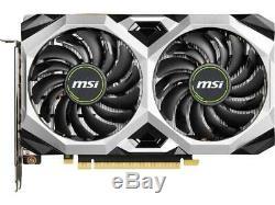 MSI GeForce GTX 1660 SUPER DirectX 12 GTX 1660 SUPER VENTUS XS OC 6GB 192-Bit GD