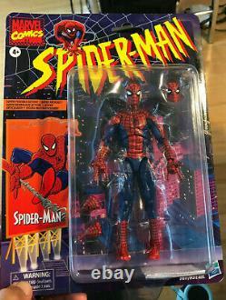 Marvel Legends 6 Super Posable 2020 Spider-Man Retro Vintage New Sealed On Card