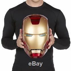 Marvel Legends Iron Man Electronic Helmet Hasbro Super hero prop mask WOW