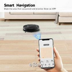 Moosoo MT-501 Smart Robot Vacuum Cleaner/Super Slim with Mobile App Alexa Support