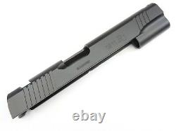 NEW 1911.38 Super 38 9mm Slide Novak Sight Cut Full Size, BLACK Nitride