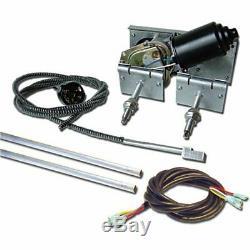 NEW First Class WIPER Power Windshield Kit Hot Street Rod specialty window wwk2