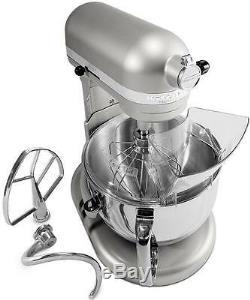 NEW KitchenAid 600 Super Large Capacity 6-Quart Pro Stand Mixer Kp26m1psl Silver