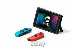 NEW Nintendo Switch Bundle Super Mario Bros. U Deluxe with 4 GAMES + MORE