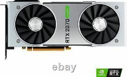 NVIDIA GeForce RTX 2070 Super 8GB GDDR6 PCI Express 3.0 Graphics Card Black