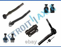 New 8pc Tie rods Ball Joint Kit for Ford F-250 F-350 Super Duty 4WD 4x4