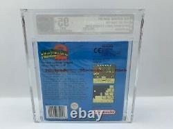 Nintendo Gameboy VGA Spiel Super Mario Land 2 Sealed 95+ Gold Mint UN