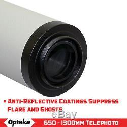 Opteka 650-2600mm Super Zoom Lens for Canon 60D 70D T7i T6i T6 T5i T5 T4i T3i T3