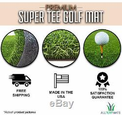 Premium Super Tee Golf Mat 5 feet x 5 feet