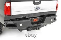 Rough Country Heavy Duty Rear Bumper (fits) 1999-2016 Super Duty F250 F350