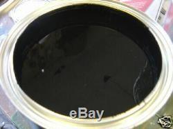 SUPER JET BLACK ACRYLIC ENAMEL single stage gloss restoration auto paint kit