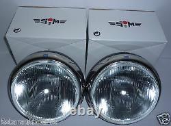 Sim Stainless Steel Chrome 9 Cibie Super Oscar H3 Replica Spot Lights Lamps
