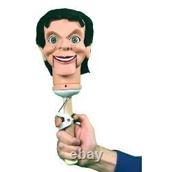 Slappy / Goosebumps Super Deluxe Upgrade Ventriloquist Dummy Moving Eyes & Brows