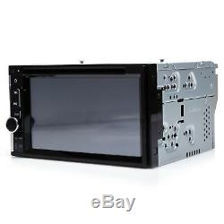 Sony Lens Double Din Car Stereo Radio DVD Player Bluetooth TV USB Mirror For GPS