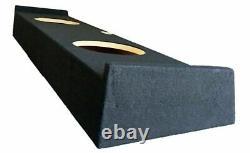 SoundBox F150 Super Crew (Crew Cab) 2009-2016 Dual 12 Subwoofer Enclosure