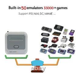 Super Console X Retro Mini WiFi 4K HDMI TV Video Game Console For PS1/N64/DC