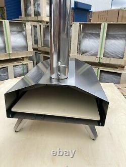 Super Grills outdoor pizza oven stainless steel table top portable Italian new