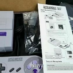 Super NES SNES Classic Mini Edition 9000 Games Console Factory Refurbished
