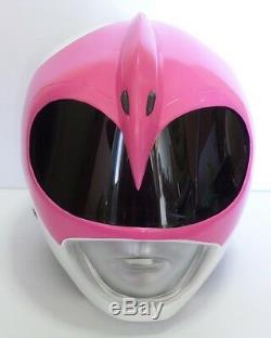 Super Ranger Hero Power Man Costume Helmet Color Pink