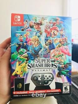 Super smash bros ultimate special edition nintendo switch