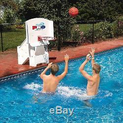 Swimline Super Wide Cool Jam Pro Inground Swimming Pool Basketball Hoop 9195