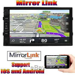 Touchscreen Car Stereo Radio Double 2DIN for GPS Wifi USB Player with Park Camera
