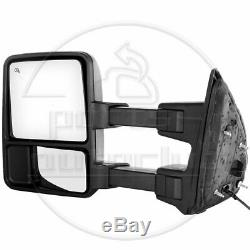 Towing For 2003-07 Ford F250/F350 Super Duty Power Heated Signal Side Mirrors