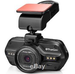 TrueCam A7s 2K Super FULL HD Dashcam 219 LCD Autokamera GPS Blitzerwarner
