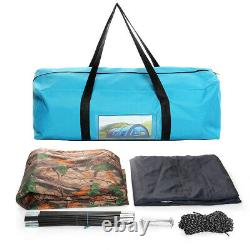US 8-10 Person Super Big Camping Tent Waterproof Portable Outdoors Hiking Party