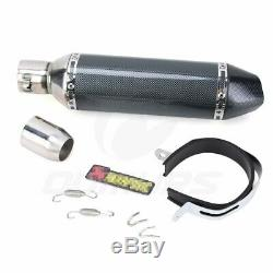 Universal Motorcycle Exhaust Muffler Pipe with DB Killer Slip On Exhaust 3851mm