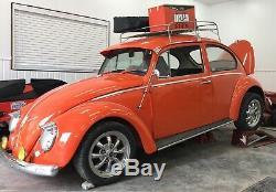 VW Bug Exterior SUN VISOR 1952-79 Ragtop Super Beetle HOT RAT ROD VINTAGE FIBERG