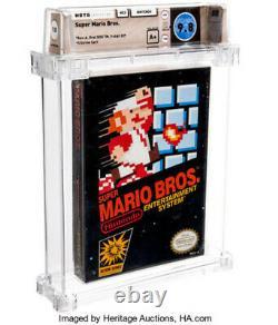 WATA 9.8 A+ SEALED NES Super Mario Bros. (Nintendo Entertainment System, 1985)