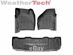 WeatherTech DigitalFit FloorLiner Ford Super Duty SuperCrew 1999-2007 Black