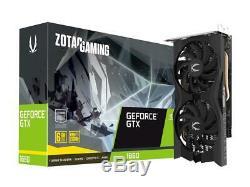 ZOTAC GAMING GeForce GTX 1660 6GB GDDR5 192-bit Gaming Graphics Card, Super Comp