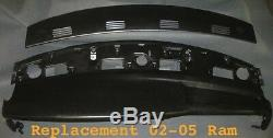 02 03 04 05 Remplacement 2 Pièces Dash Tops Fit Board Dodge Ram Pick Up / Noir