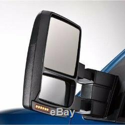 07-14 Ford F150 De Ramassage De Remorquage Remorquage Miroirs Extérieurs Électriques Et Chauffants Ensemble Paire De Signaux Flaque D'eau