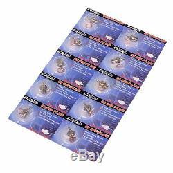 10x Hsp Super Bougie De Préchauffage Nitro Rc Voiture # 3 N3 70117 Hot 18 21 Moteurs Traxxas Os